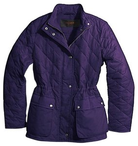 Coach Black Violet Jacket