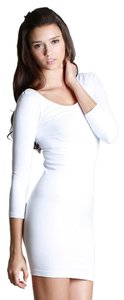 Nikibiki short dress White Seamless on Tradesy
