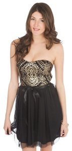 Mystic Prom Pencil Tulle Sequins Dress