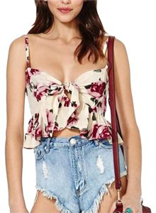 Stone Cold Fox Top Floral