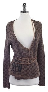 Jean-Paul Gaultier Printed Mohair Sweater