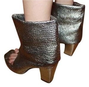 Irregular Choice Silver Boots