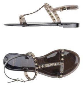 Givenchy Studded Gray/Black Sandals