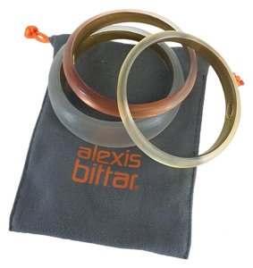 Alexis Bittar Round Bangle Set