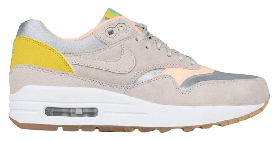 Nike Metallic Silver Womens Air Max 1 Prm # 454746 006 Sneakers Size US 12 35% off retail