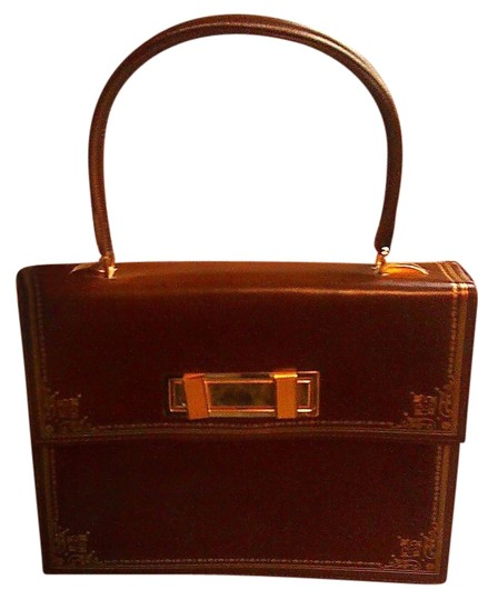 Preload https://img-static.tradesy.com/item/1775621/vintage-congac-and-gold-leather-satchel-0-0-540-540.jpg