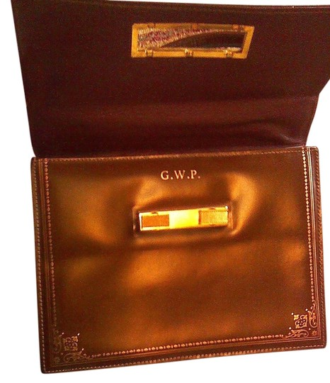 Other Satchel in congac and gold Image 1