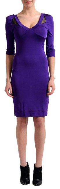 Preload https://item1.tradesy.com/images/just-cavalli-purple-stretch-bodycon-above-knee-short-casual-dress-size-8-m-17756800-0-1.jpg?width=400&height=650