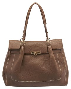 Salvatore Ferragamo Fara Gancini Large Shoulder Bag