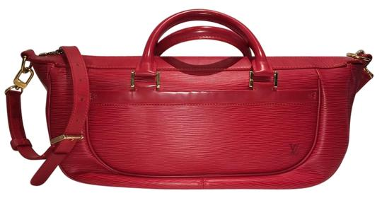Preload https://item5.tradesy.com/images/louis-vuitton-red-leather-satchel-17757019-0-1.jpg?width=440&height=440