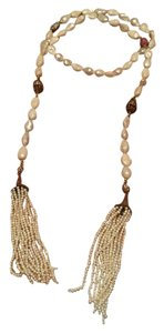 Other Pearl Tassel Wrap Around Necklace