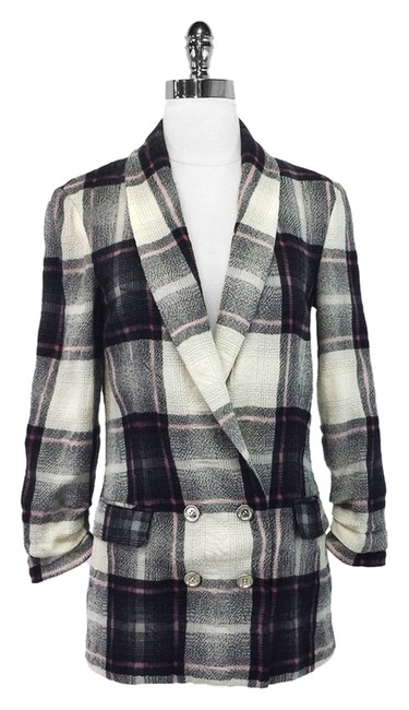 Preload https://item1.tradesy.com/images/plaid-wool-and-cotton-blend-blazer-size-4-s-1775720-0-0.jpg?width=400&height=650