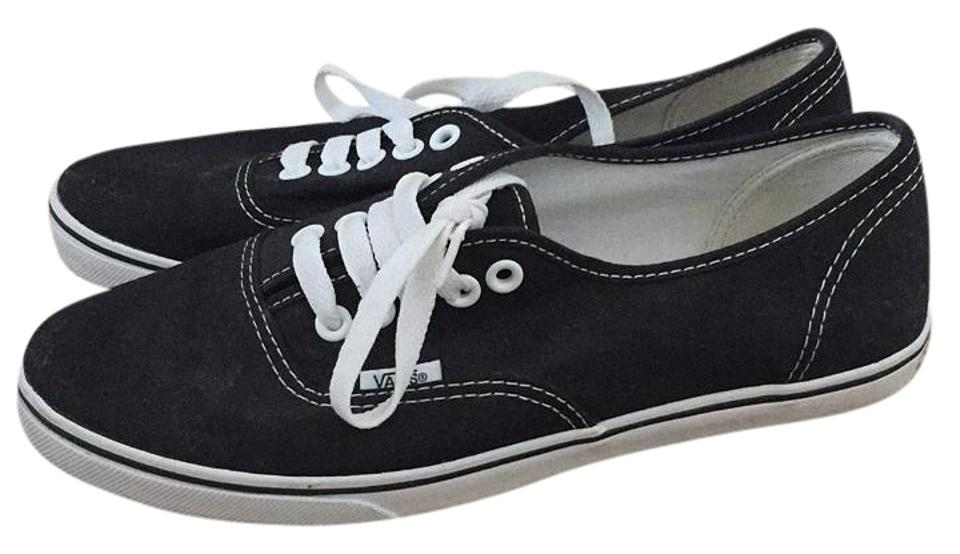 Vans Black and White Pro Sneakers Size US 7.5 Regular (M b51404868