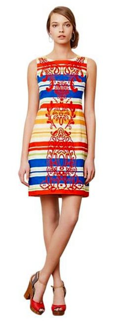 Preload https://item1.tradesy.com/images/anthropologie-multicolor-banded-totem-shift-short-workoffice-dress-size-petite-10-m-17757430-0-13.jpg?width=400&height=650