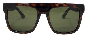 Gucci Gucci Havana Brown Square Oversized Sunglasses GG1116/S M1W1E