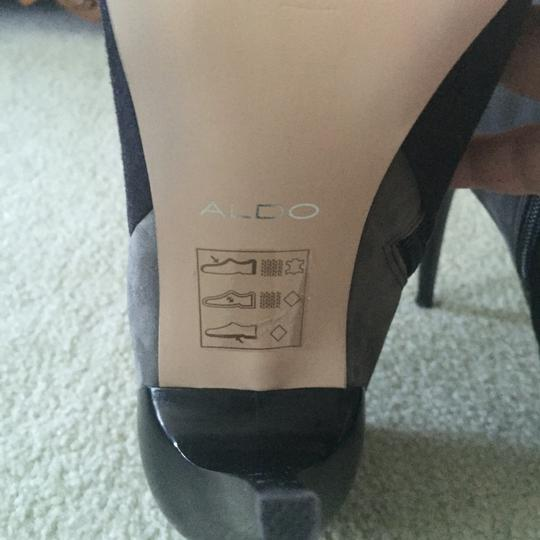 ALDO Gray/Black Boots. Never Worn Boots