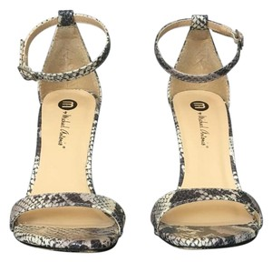 Michael Antonio Grey snake Sandals