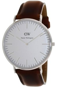 Daniel Wellington Daniel Wellington Male Andrews Watch 0207DW Silver Analog