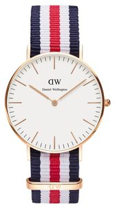 Daniel Wellington Daniel Wellington Male Canterberry Watch 0502DW Rose Gold Analog