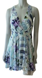 BCBGeneration short dress Pastel blue, purple on Tradesy