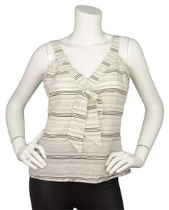 Chanel Bow Striped Nautical Top