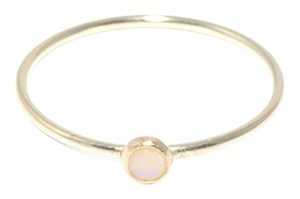 Mei Gold Opal Ring Stacking Delicate Dainty Gold-filled
