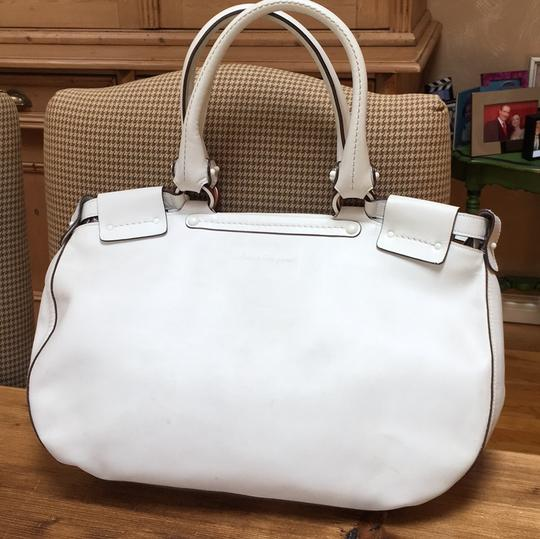Salvatore Ferragamo Satchel in White