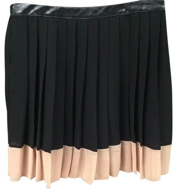 Preload https://item5.tradesy.com/images/w118-by-walter-baker-black-and-blush-pleated-knee-length-skirt-size-8-m-29-30-17760274-0-3.jpg?width=400&height=650