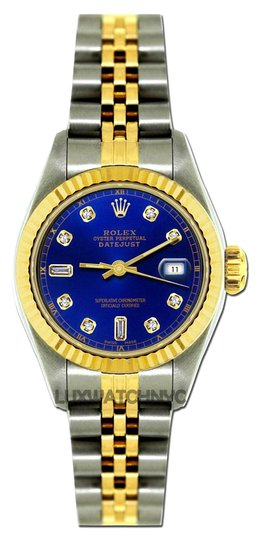 Rolex 26MM LADIES ROLEX DATEJUST GOLD S/S WATCH WITH ROLEX BOX & APPRAISAL