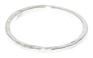 mei Sterling Silver Hammered Textured Ring Delicate Dainty