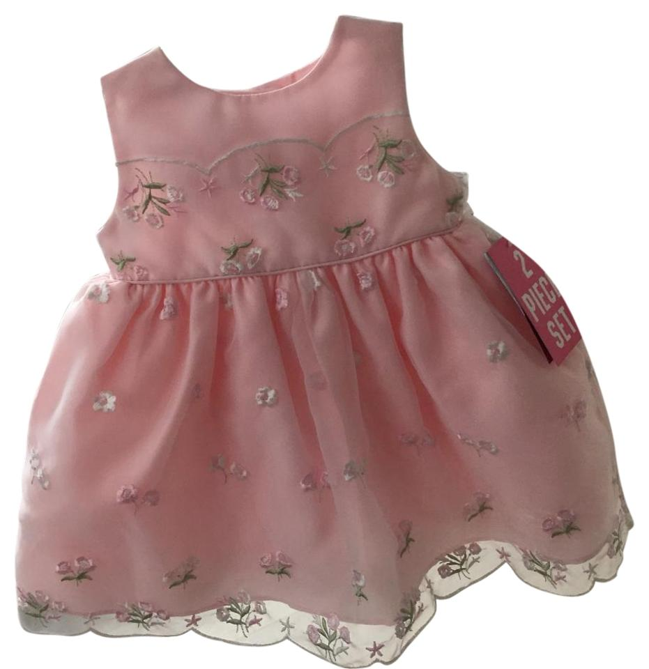 5f033cfecae0 Pink Infant 6-9months Baby Girl Mid-length Cocktail Dress Size 00 ...