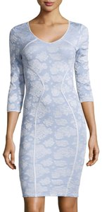 Zac Posen short dress $185 **Free Shipping** NWT Size M Fitted 3/4 Sleeve on Tradesy