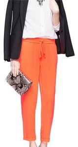 J.Crew Straight Pants Orange