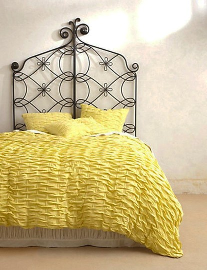 Anthropologie Chartreuse Ebba Euro Sham Pair Other