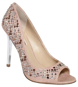 INC International Concepts 5.5 Evening Pump gold Pumps