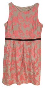 Ann Taylor LOFT short dress Pink, Tan, Black on Tradesy
