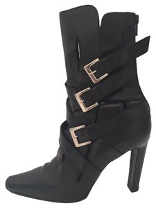 Manolo Blahnik Buckle black Boots