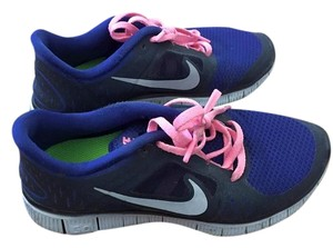 Nike Freeruns3 Pink and blue Athletic