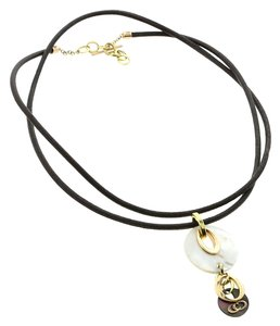 Chimento Chimento Mother of Pearl Multitone Gold Necklace