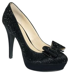 INC International Concepts Evening Pump Black Platforms