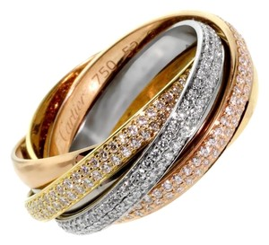 Cartier Cartier Trinity Diamond Gold Ring