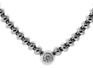 Chopard Chopard Diamond Solitaire White Gold Necklace