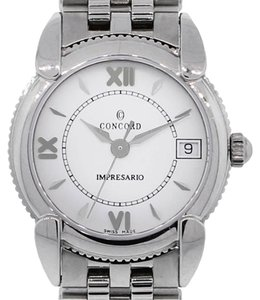 Concord Concord Impresario Stainless Steel White Roman Dial Ladies Watch