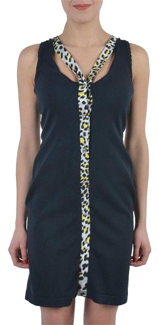 Preload https://item5.tradesy.com/images/just-cavalli-black-sleeveless-buttons-decorated-stertch-bodycon-short-casual-dress-size-4-s-17762509-0-1.jpg?width=400&height=650