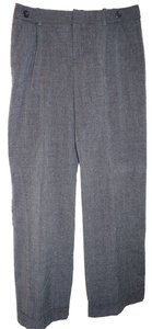 Merona Trouser Pants grey black plaid