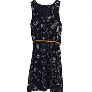 Jason Wu for Target short dress Navy Floral on Tradesy