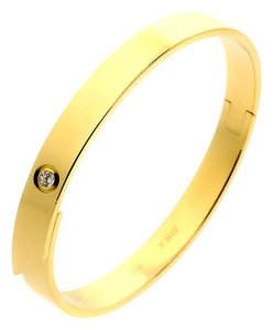 Cartier Cartier Anniversary Diamond Gold Bangle Bracelet