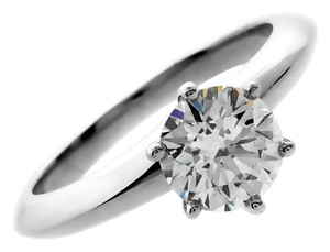 Tiffany & Co. Tiffany & Co Solitaire Diamond Engagement Ring