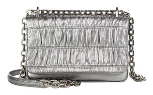 Prada Chain Crossbody Pleated Shoulder Bag