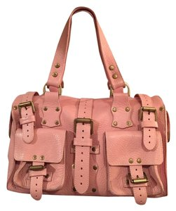 Mulberry Satchel in pink